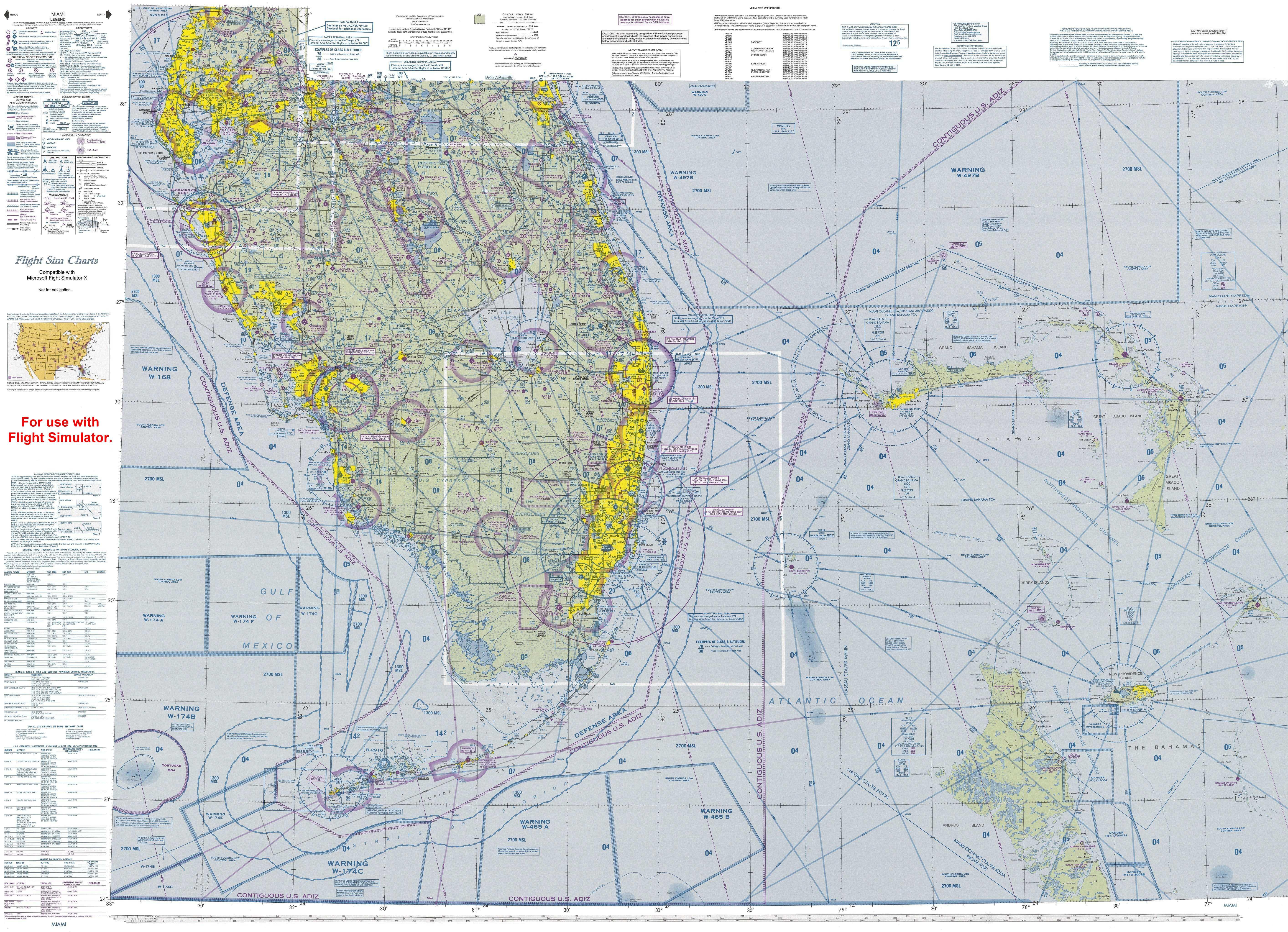Cross Country Navigation Flight Simulator And Tablet